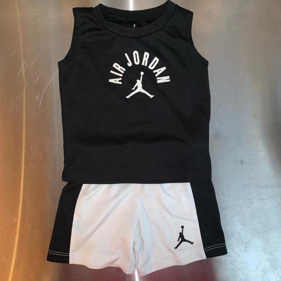 3c14ed8e6ba Nike Matching Sets | Air Jordan Set For Toddler Boys Size 18 Month ...